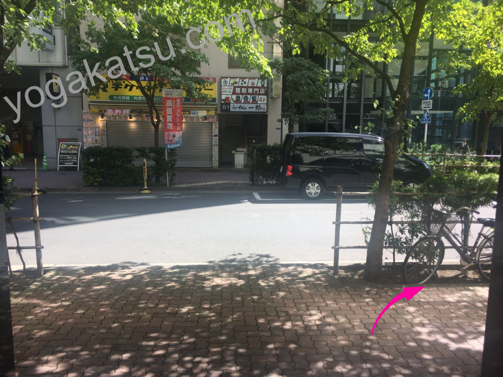 ホットヨガスタジオLAVA銀座本店までのアクセスに関する口コミ2