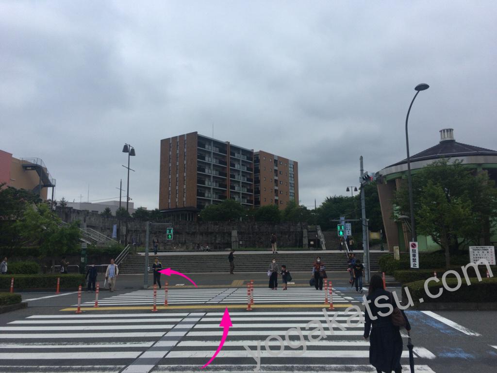 ホットヨガスタジオLAVA南大沢店までのアクセス4