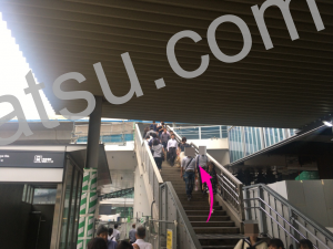 ホットヨガLAVA(ラバ)渋谷クロスタワー店のアクセス2
