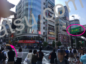 ホットヨガLAVA(ラバ)新宿新都心店のアクセス4