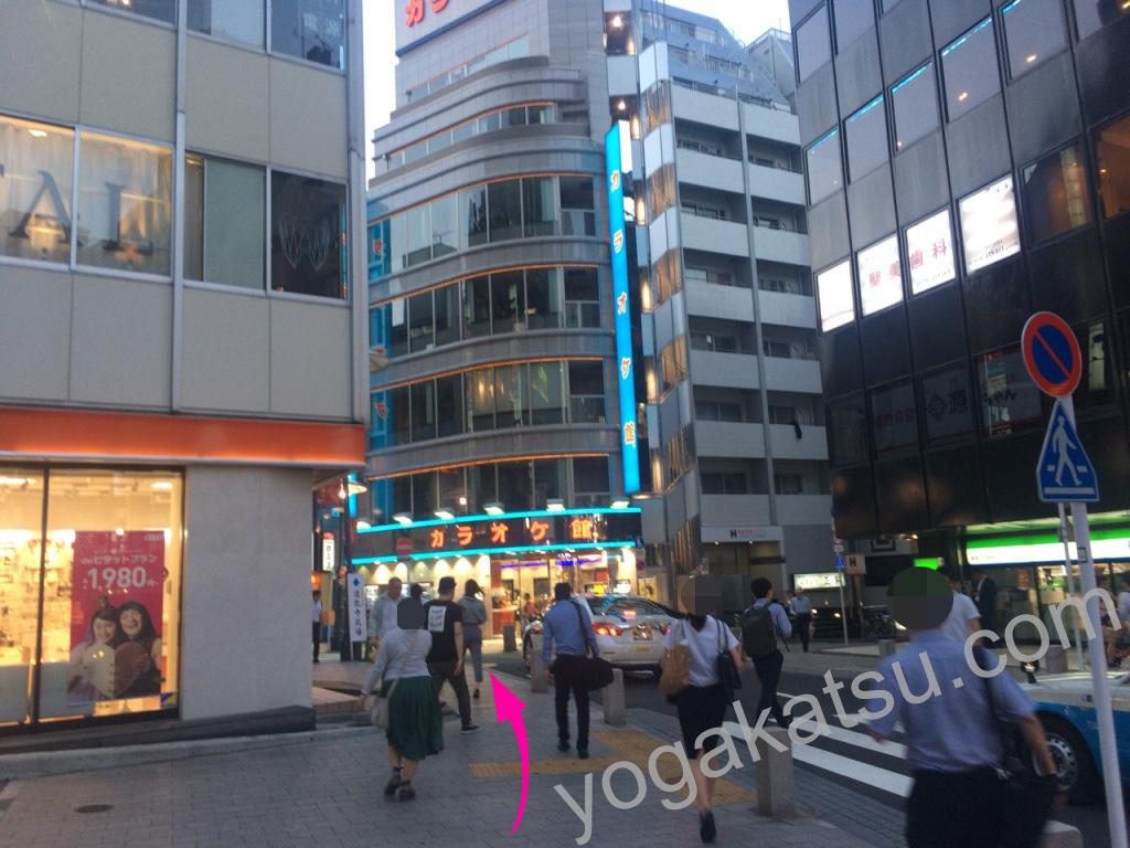 ホットヨガスタジオLAVA赤坂店までのアクセスに関する口コミ3