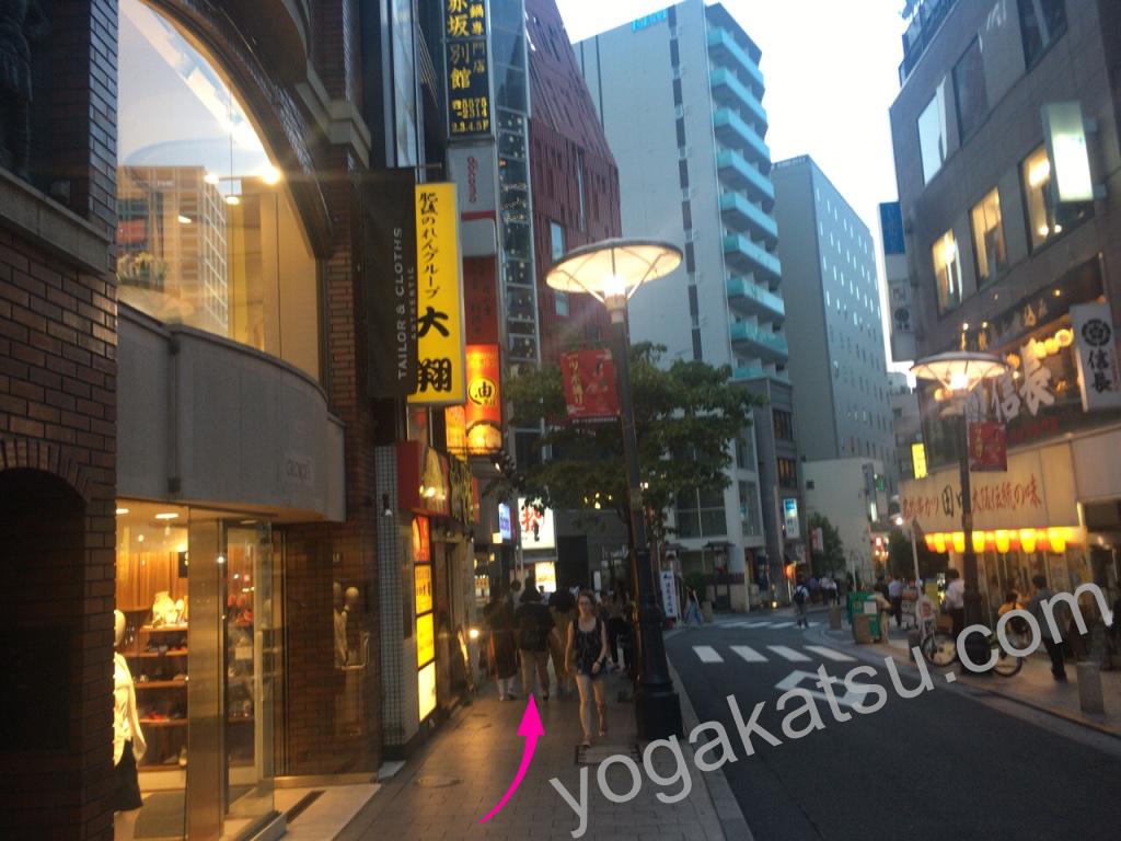 ホットヨガスタジオLAVA赤坂店までのアクセスに関する口コミ4