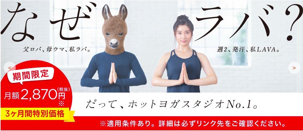 ホットヨガ初心者におすすめの東京都のヨガ教室ランキングNo1(LAVA)