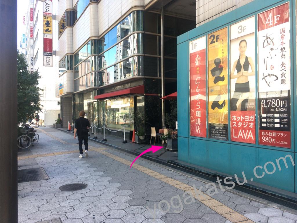 ホットヨガスタジオLAVA梅田店のアクセスに関する口コミ8
