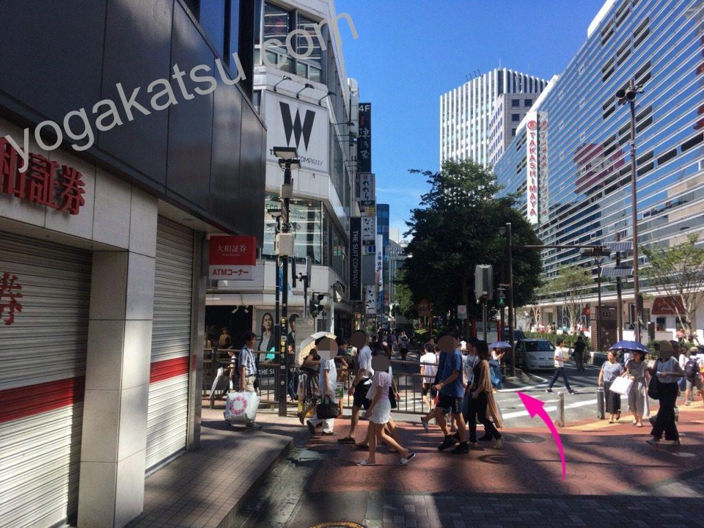 ホットヨガLAVA(ラバ)横浜西口店までのアクセスに関する口コミ4