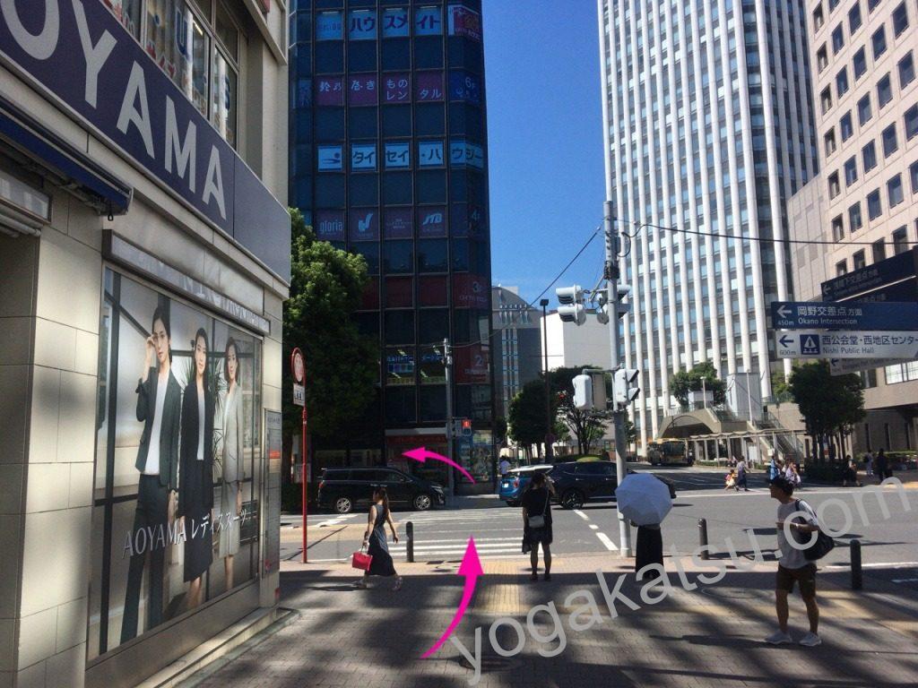 ホットヨガLAVA(ラバ)横浜西口店までのアクセスに関する口コミ6