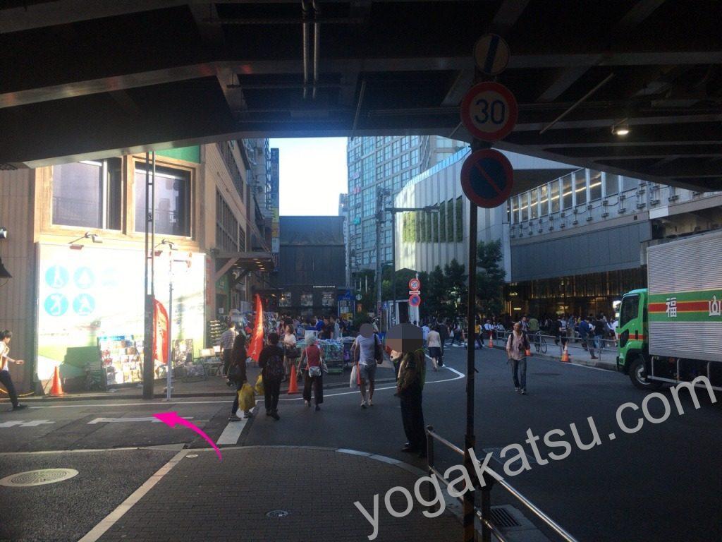 ピラティススタイル新宿南口店までのアクセスに関する口コミ4