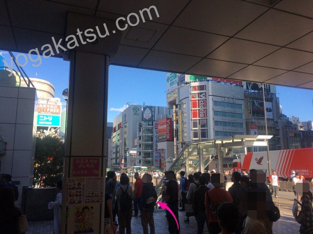 ピラティススタイル新宿南口店までのアクセスに関する口コミ2