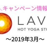 lava キャンペーン 2019
