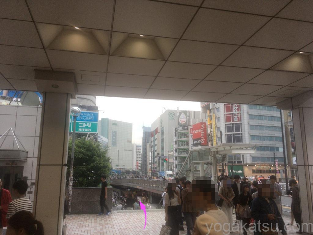 カルド新宿店までのアクセス2