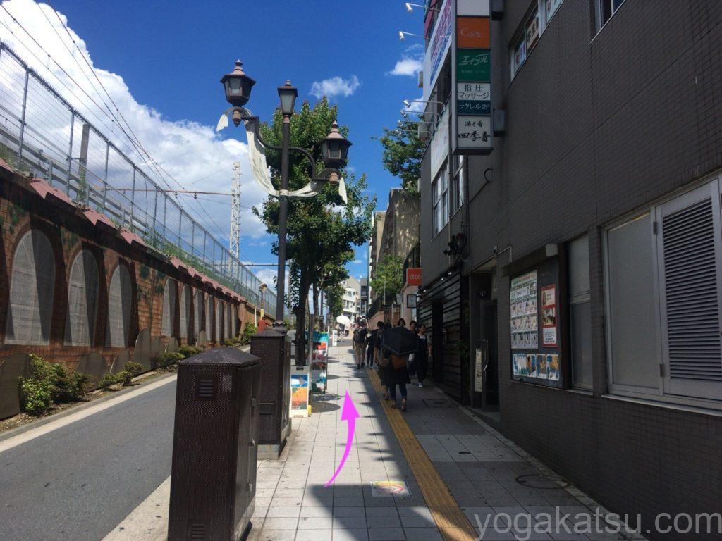 ララアーシャ中野店までのアクセス3